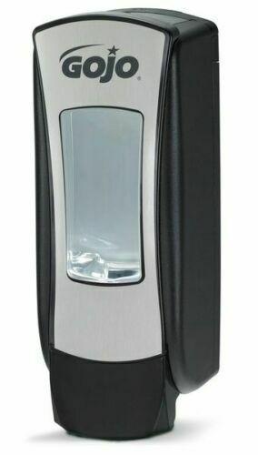GOJO 8888-06 ADX-12 1250mL Foam Soap Dispenser, Push-Style, Chrome/Black
