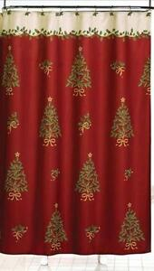 christmas curtains ebay. Black Bedroom Furniture Sets. Home Design Ideas