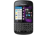 BlackBerry Q10 - 16GB - (Unlocked) Touch + Keypad Smartphone 8MP Camera