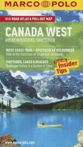 USED (VG) Canada West/Rockies Marco Polo Guide (Marco Polo Guides)