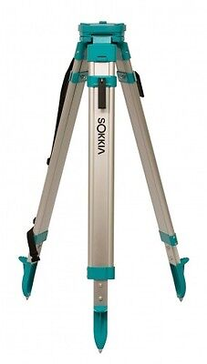 SOKKIA Contractor's/Builder's Aluminum Flat Top Tripod Quick Clamp #724445
