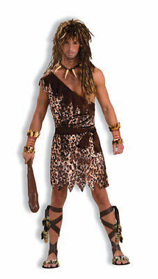 Cave Stud Caveman Adult Mens Halloween Costume