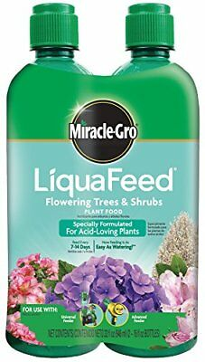 (Miracle-Gro LiquaFeed Flowering Trees and Shrubs Plant Food Refill pk)