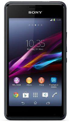Sony Xperia E1 Android Smartphone ohne Simlock Kamera Walkman Phone Schwarz