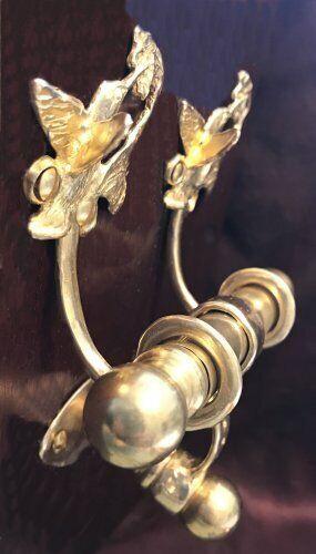 HUMMINGBIRD Bronze DUET Door Knocker