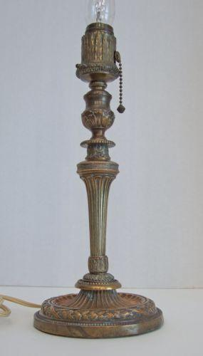 Antique French Table Lamp Ebay