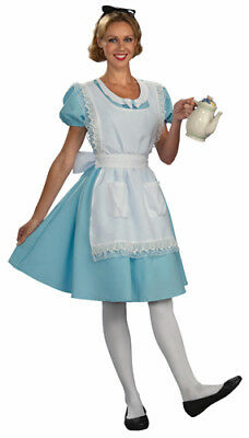 Disney Womens Alice in Wonderland Halloween Costume (Disney Halloween Costumes Women)