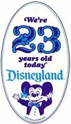 Disneyland Badge