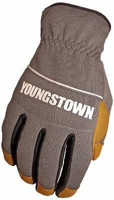 Youngstown Glove 12-3180-70-l Hybrid Plus Performance Glove Large Gray