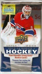 UpperDeck Hockey 2013/14 Series 1 5 Card Pack $2 Per Pack! WOW