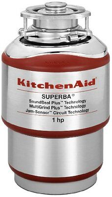 kitchenaid kcds100t 1 hp garbage disposal brand new free shipping 48