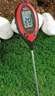 Bodenanalyse Gerät 4 in 1 digital Bodentester Kombi-Bodenmessgerät