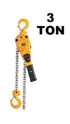 Harrington Manual Lever Hoist - Lb Series - 3 Ton - 5 Ft Lift