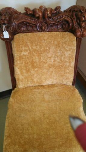 Hand Carved Wood Furniture Ebay