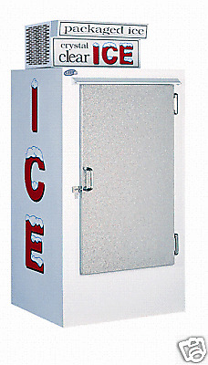 Leer Model 30 Outdoor Ice Merchandiser