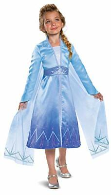 Disguise Disney Elsa Frozen 2 Prestige Girls