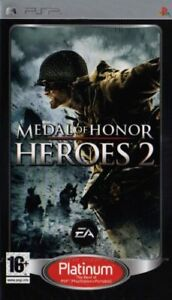 psp Medal of honor: Heroes 2 - édition platinum