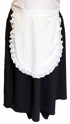 Victorian-Edwardian-St Davids Day-Maid-Ladies-Womens SKIRT& PINNY SET All Sizes - All Saints Day Costumes
