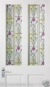 3D-MULTI-COLOURED-FLOWER-DESIGN-WINDOW-FILM-DOOR-CLING-STAINED-GLASS-ROLL-120