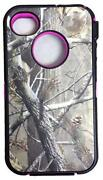 Pink Camo Otterbox Case for iPhone 4