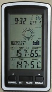 Wireless Weather Station with Indoor/Outdoor Temperarure & Humidity and Forecast