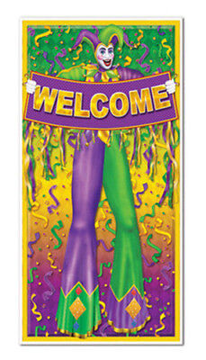 MARDI GRAS party SCENE SETTER wall/door cover poster decoration New Orleans - Mardi Gras Scene Setter