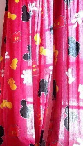 Mickey Mouse Curtains Ebay