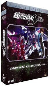 Mobile Suit Gundam Seed ( Kult Anime auf Deutsch ( BOX 2 ( 5 DVDs 25-50 ) NEU OV