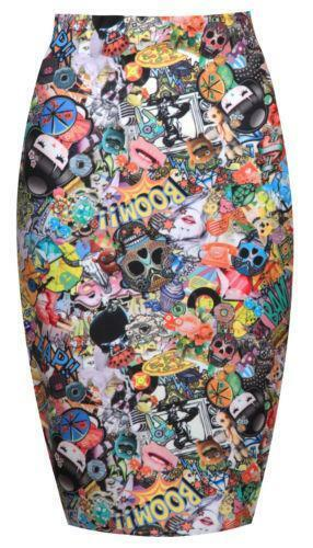 34f18cfdb2c Comic Skirt