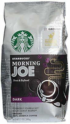 Starbucks Morning Joe  Formerly Gold Coast Blend  Ground 12 Oz Bag