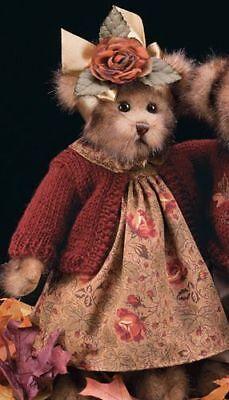 """Bearington Bears """"Autumn"""" 14"""" Collector Bear- Sku #1450- 2003"""
