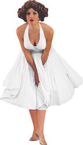 Marilyn Monroe White Halter Dress   eBay