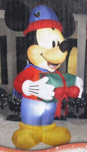Disney Christmas Inflatable Ebay