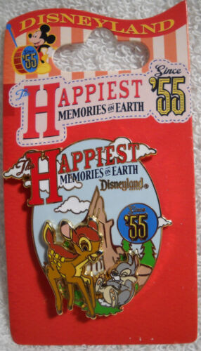 Happiest Memories on Earth Collection Bambi and Thumper Disney Pin NEW