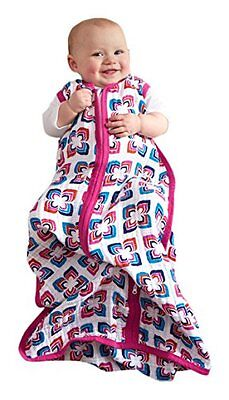 Aden + Anais Classic Sleeping Bag (X-Large, Flip-Side) NEW 8129G 0.6 Tog Cotton