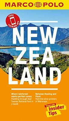 New Zealand Marco Polo Pocket Travel Guide - with pull out map by Marco Polo Pap