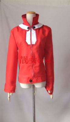 Anime Cos Yu-Gi-Oh! GX Jaden Yuki red jacket character costume customization!COU