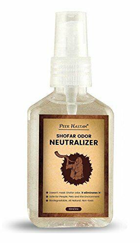 Shofar Odor Neutralizer Spray by Peer Hastam