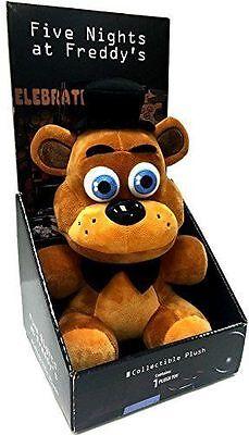 Fnaf Five Nights At Freddys Freddy Fazbear 10  Authentic Boxed Plush Licensed