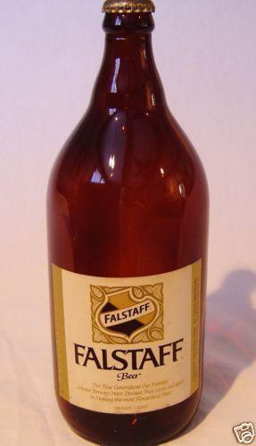 Falstaff Beer Bottle Ebay