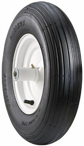 Wheelbarrow Tubeless Tire 4.80/4.00-8 Wheel Barrow Replacement Tire (Tire Only)