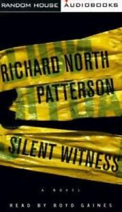 Silent Witness by Patterson Audiobook Boyd Gains 4 hours on 4 audiocassettes