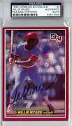 Willie McGee Autograph