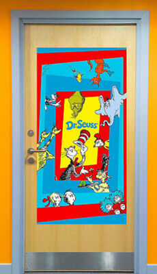 DR. SEUSS Scene Setter CAT IN THE HAT Birthday Party kit w/13 photo booth props](Cat In The Hat Birthday Decorations)