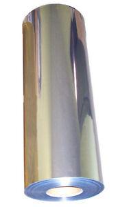 20 X10ft Heat Transfer Vinyl Chrome Mirror Finish Silver