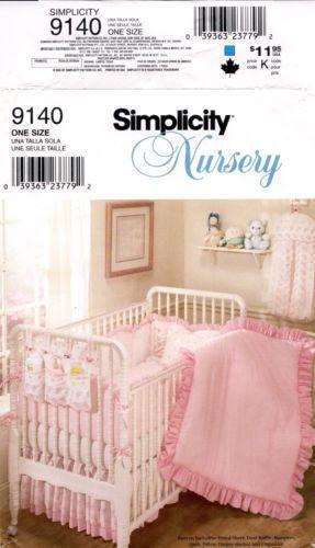 Patterns For Crib Bedding