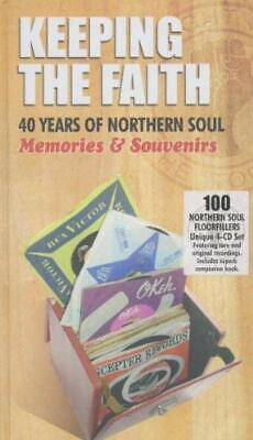 KEEPING THE FAITH - 40 YEARS OF NORTHERN SOUL (4CD BOX SET 2007) NEW...FAST POST