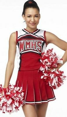 High School Cheer Musical Glee Cheerleader Costumes Outfit Fancy Dress S-XL (Glee Costumes)