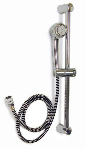 adjustable height shower head ebay. Black Bedroom Furniture Sets. Home Design Ideas