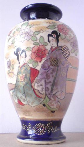 Large Satsuma Vase Ebay
